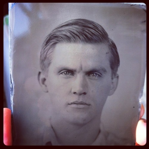 Tin-Type from Eric Anthony Johnson #me #tintype #photography
