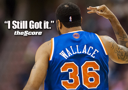 "Photo: Rasheed Wallace ""I Still Got It."""