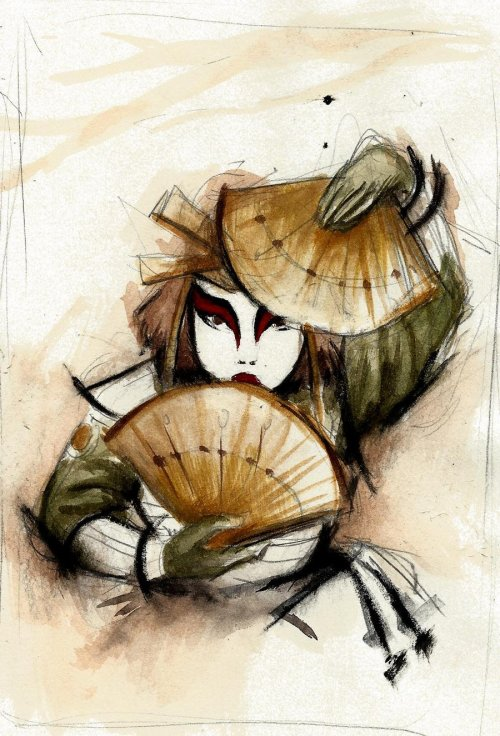 avatardfanart:  Kyoshi Warrior by ~winderly