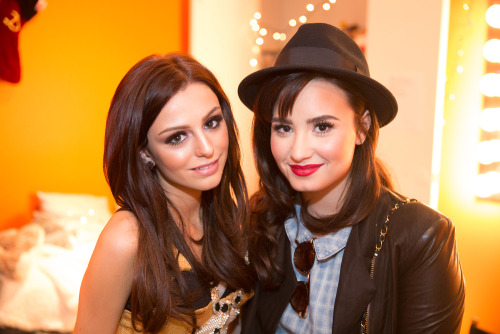 """Great meeting you last night Cher Lloyd!!"""
