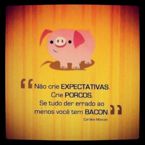 Kkkkkkkkkkkkkk adoro bacon!!! #instagram #statigram #iphone #iphone4 #Iphonegraphy #instadaily #instagood #igotheday #photooftheday #clubsocial #instatalent #popularphoto #igers #family #brasil #flickr #instagood #igersbrasil #allshots #webstagram #iphoneonly #iphonesia #instagramhub #instamania #popular #pig #bacon