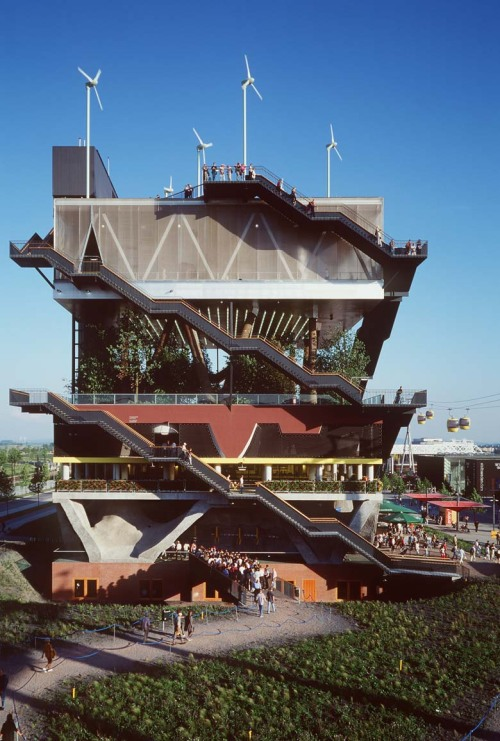 wandrlust:  Expo 2000 Pavilion for the Netherlands, Hanover, Germany — MVRDV