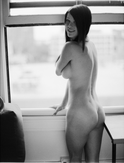 Cassandra is built like a Clydesdale (Print for Sale) shot on medium format 6x4.5 black and white film. www.graysprovocation.com