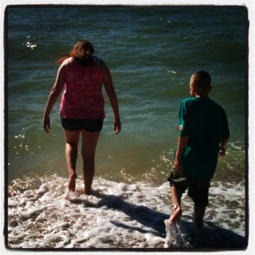 Lovin the water (at Bonita Beach)