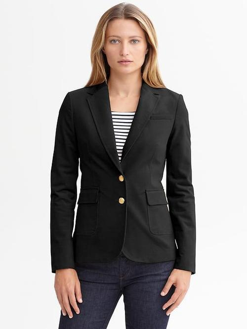 Cotton Hacking Jacket, $150 at Banana Republic