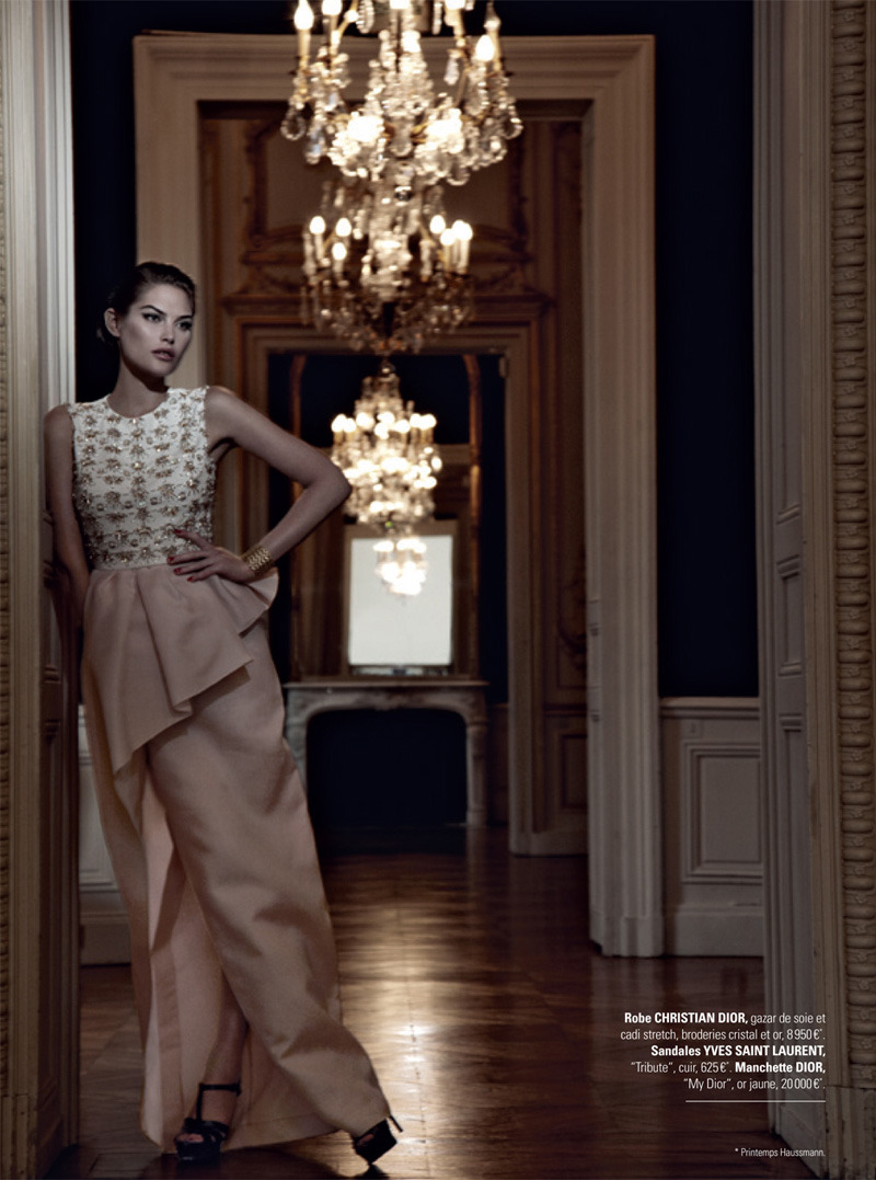 stormtrooperfashion:  Catherine McNeil in Christian Dior Pink Peplum Dress and Yves Saint Laurent Heels