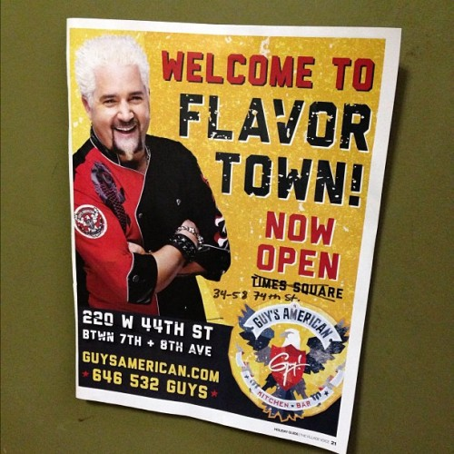 Put this on our door yesterday for our Thanksgiving guests. #flavortown  (at Herbalife - World Team)