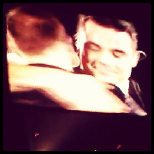 Aww, Rob and Gaz, u can see from Rob's face what it meant to have Gary there.
