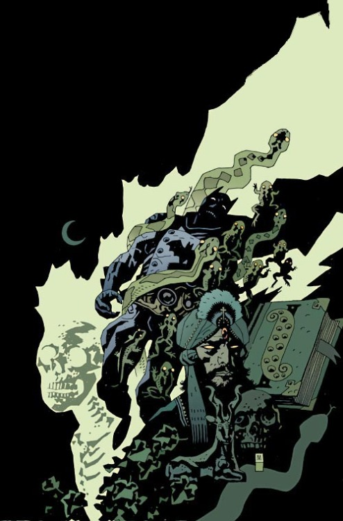 artverso:  Mike Mignola - Batman