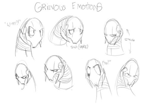 Grievous Emotion by ~r2griff2