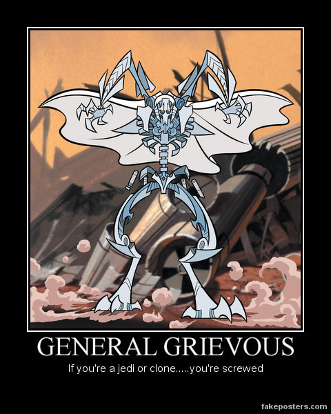 General Grievous Poster by ~Sinncrow