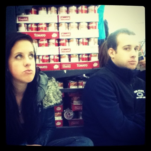 Me and my brother in law. Waited in line at Walmart for 6 hours black friday shopping -_-
