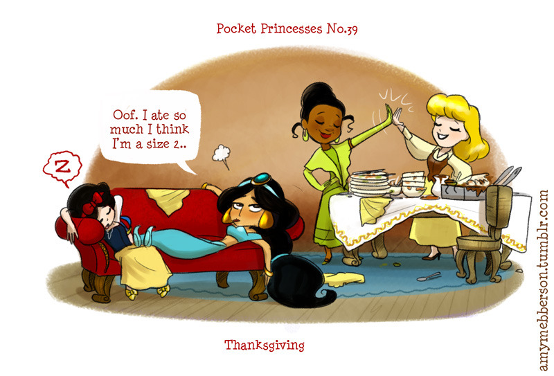 amymebberson:  Pocket Princess #39 - Successful Thanksgiving