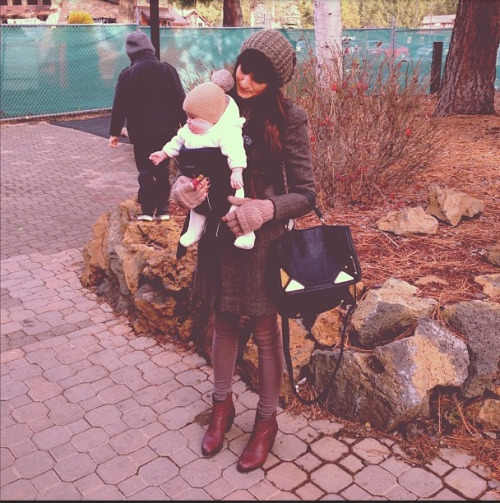 Katelynne and the cutest baby ever, Copeland Quinn.