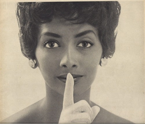 Helen Williams, most photographed black model of her day..
