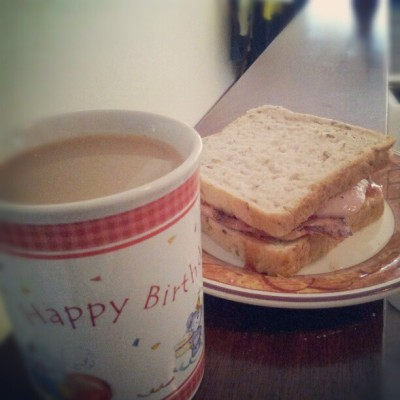 My birthday breakfast :D