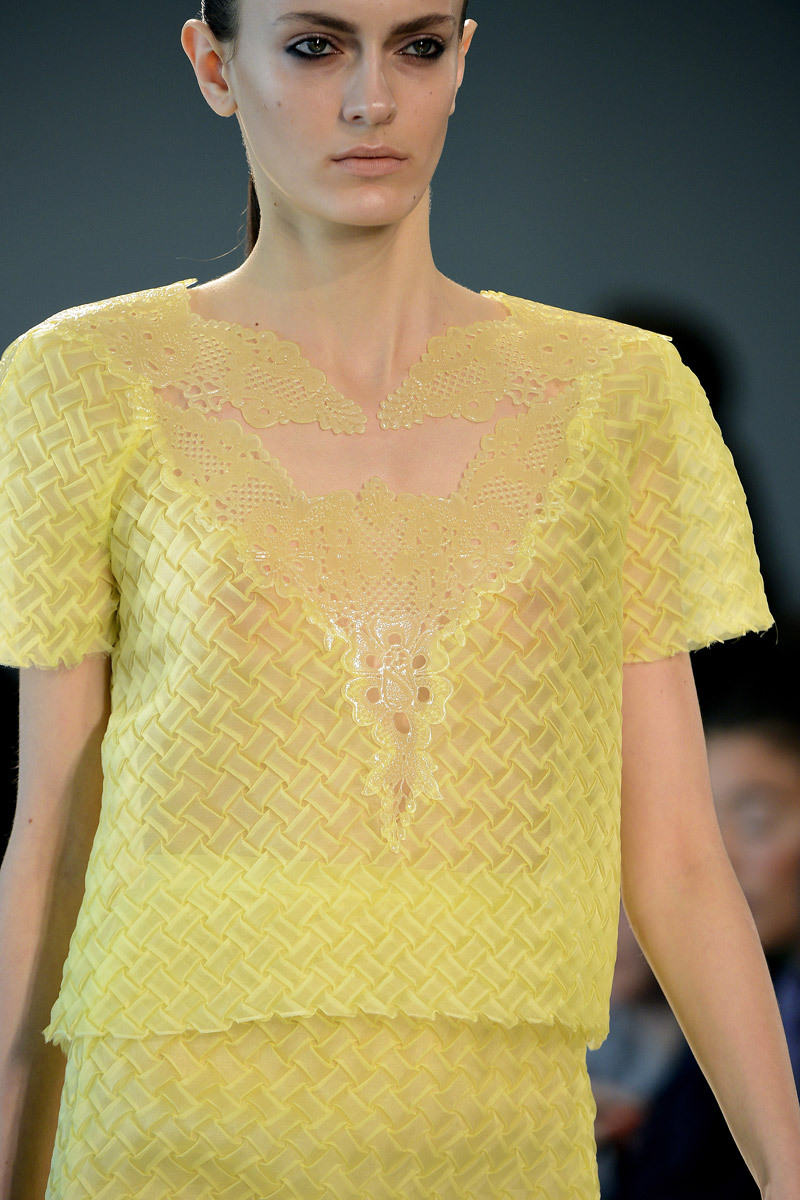 models-on-the-runway:  christopher kane s/s 2013