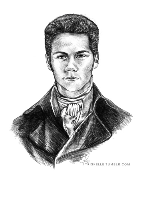 Have I mentioned that I'm a little bit obsessed with Sterek/Austen crossovers?