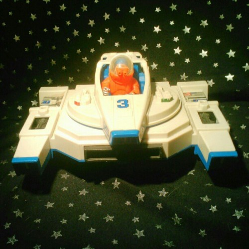 The #FisherPrice #AdventurePeople #Alpha #Interceptor patrols the solar system. #toycrewbuddies #toycrewbuddiesjp #toycrewbuddiesusa #toyplanet #instahub #instamood #instagramhub #webstagram #toy #toys #actionfigure #vintage #astronaut #Space