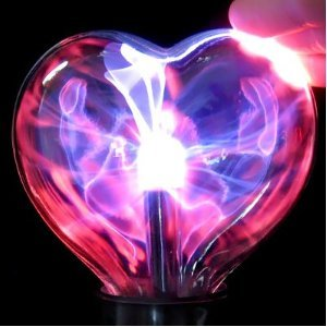 Heart Shaped Plasma Lamp