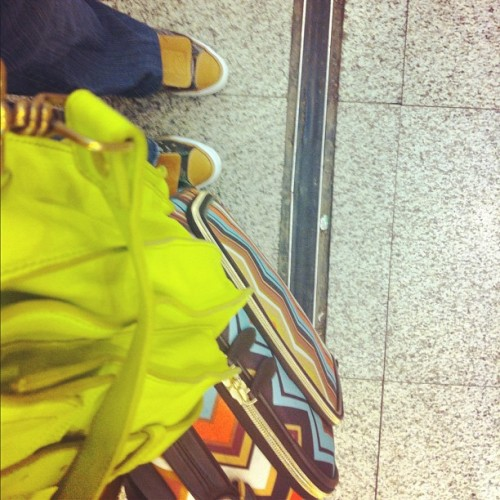 #fromwhereistand ! Guess where I'm headed 2! #convers #missoni #missoni4target #ps1 #jetset #traveling