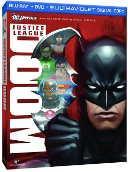"Title: Justice League: Doom (2012) Synopsis: The Justice League's enemies find ways to take the League down… permanently. Why you should like it: The character design and animation for this movie is (are?) beautiful. The plot has been simplified (and frankly, it's been improved) from the basis of the story, ""Tower of Babel."" The film was written by the late Dwayne McDuffie, whom is very well-respected by both people in the comics industry and fans alike for his fantastic adaptations of memorable storylines. Availability: DVD, Blu-Ray, Digital Download."