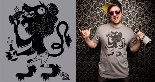 Bro of Arms $9.99 til 11:59pm Monday @threadlesshttp://beta.threadless.com/product/4329/BRO_OF_ARMS