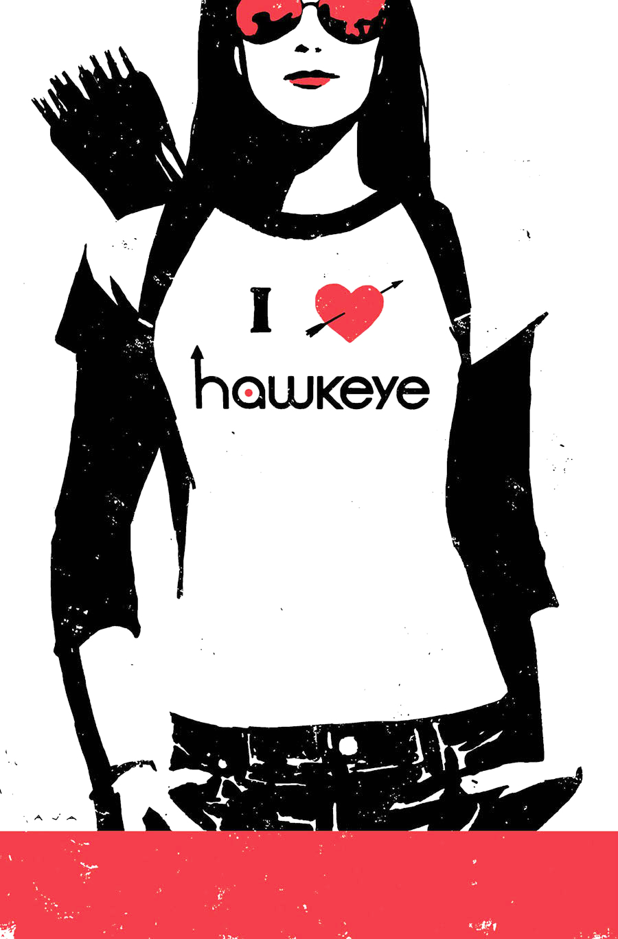 viperf0x:   Hawkeye #1-8  A moment of silence to appreciate David Aja's beautiful covers.