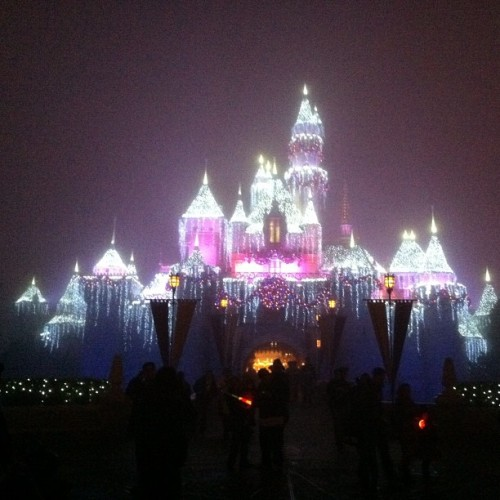 Sleeping Beauty Castle at #Disneyland.  (at Disneyland Park)