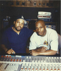 westcoastchris:  Ice Cube & Dmx
