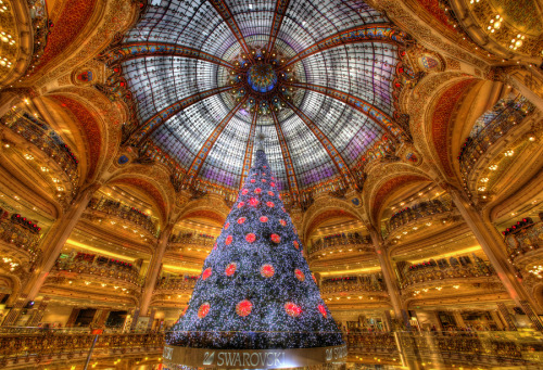 """Happy Christmas from Paris!"" by Art Hakker"