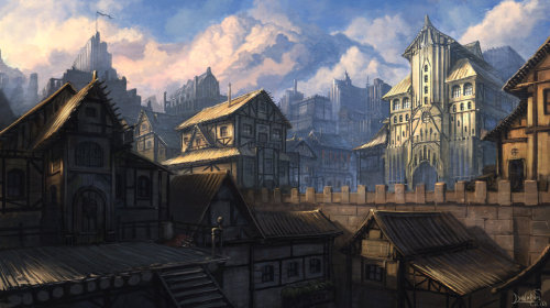 Main town by ~IIDanmrak