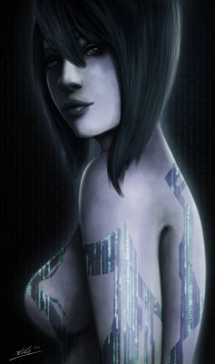 deluxeminty:  Cortana by Tr1gg3r117