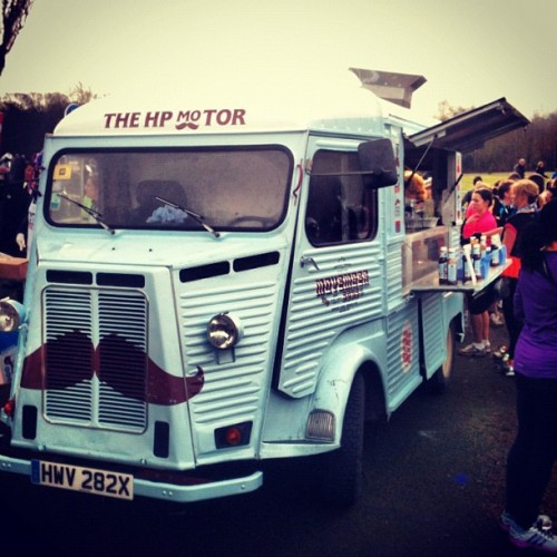 Bacon butty truck (at Heaton Park)