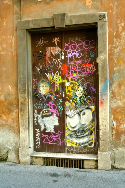 thanjel:  the amazing door, Rome, by thanjel.