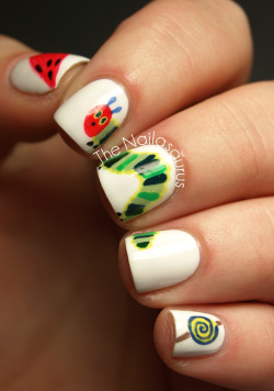 thenailasaurus:  31DC2012: Inspired by a Book