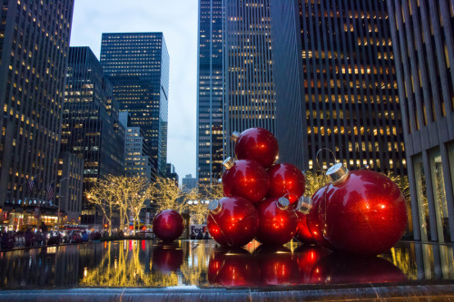 """Christmas Has Come To NYC"" by Paul Martone"