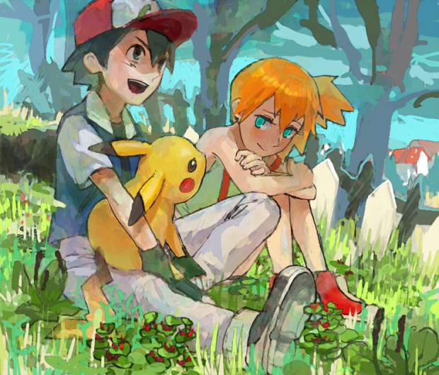 pokeshipping:  ( source: 絵を描きたい )