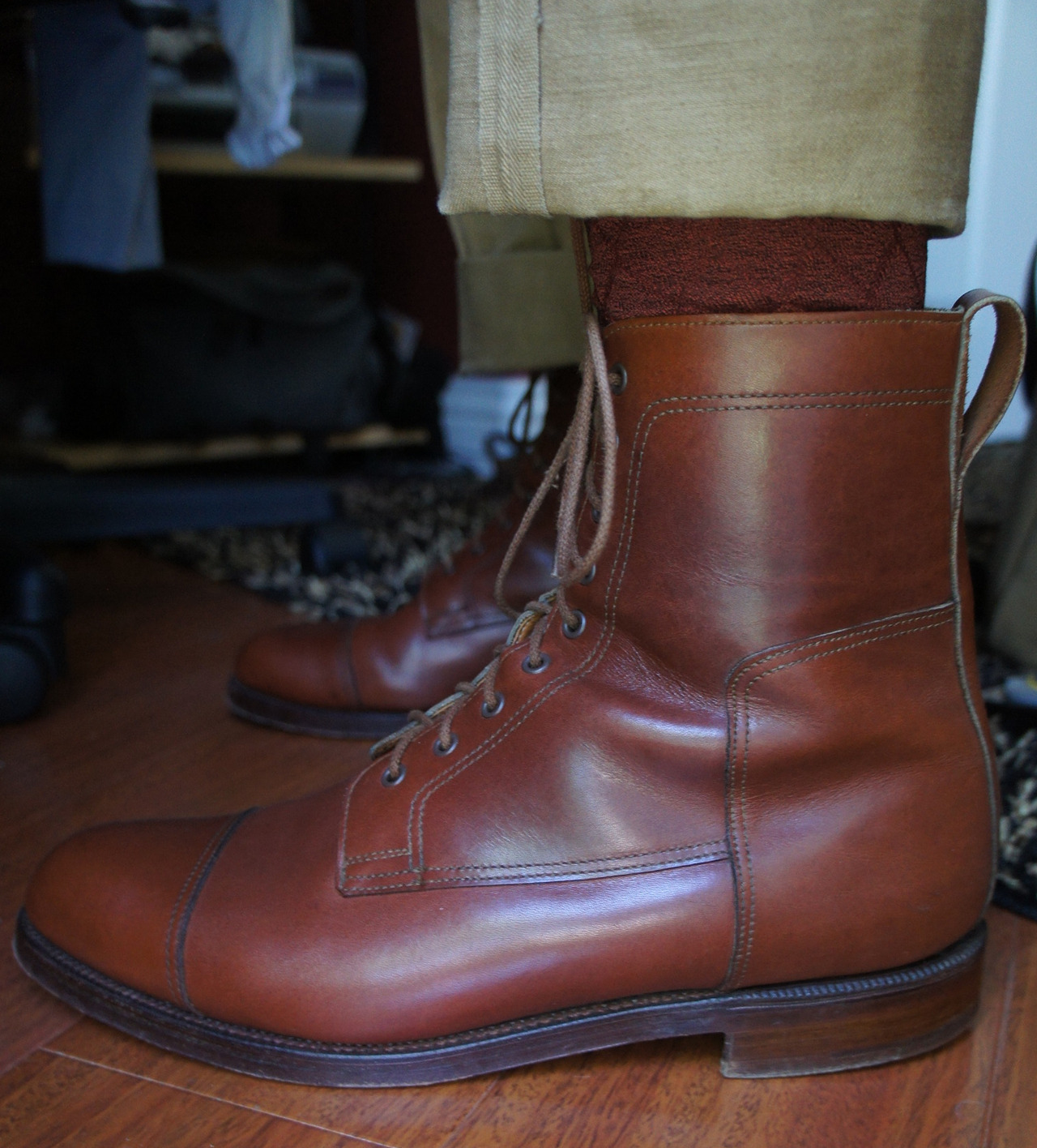"Blast from the Past: Crockett & Jones ""Doughboy"" for Ralph Lauren"
