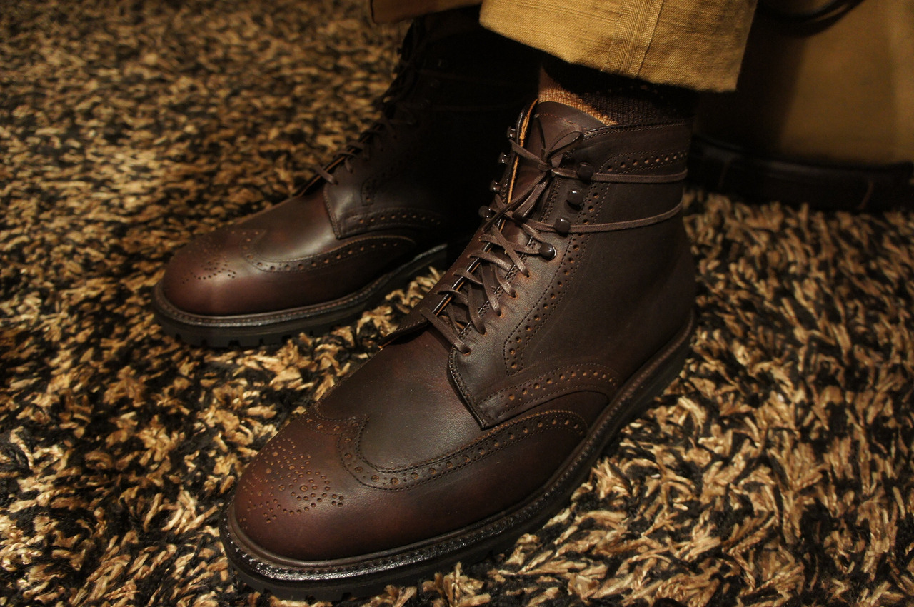 "Blast from the Past: Alden Kudu Wingtip on the ""Police"" Vibram rubber sole"