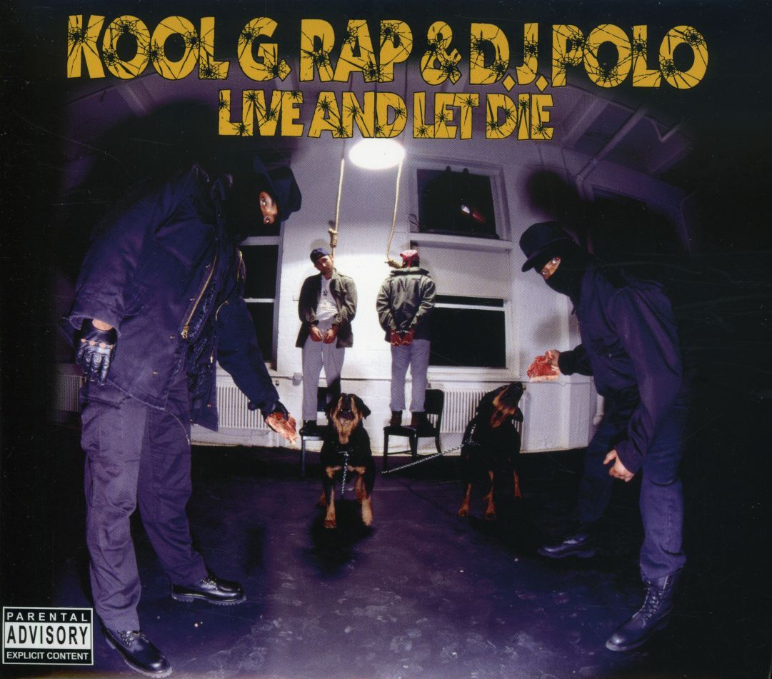 20 YEARS AGO TODAY |11/24/92| Kool G Rap & DJ Polo released their third and final album, Live And Let Die, on Cold Chillin' Records.