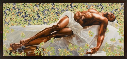 Kehinde Wiley | Sleep | 2008 | Oil on canvas | 132 x 300 in.