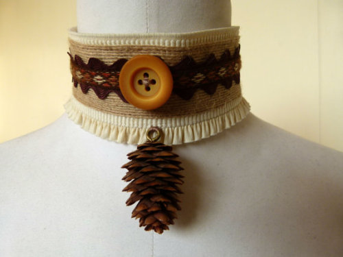 Choker by Ghost of a Gipsy on Etsy