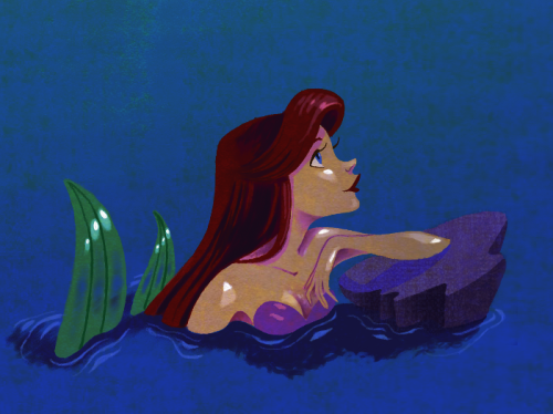 ….I'm back! With another Ariel pic, ho hum :)