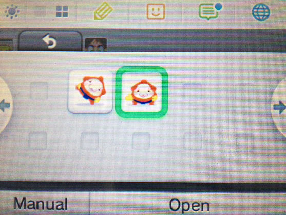 I love that Crashmo's menu icon completes Mallo's sumo stomp — it's just like how the first four Professor Layton game icons show Hershel solving a puzzle! Buy: Nintendo 3DS and 3DS XL consolesSee also: More eShop news and media