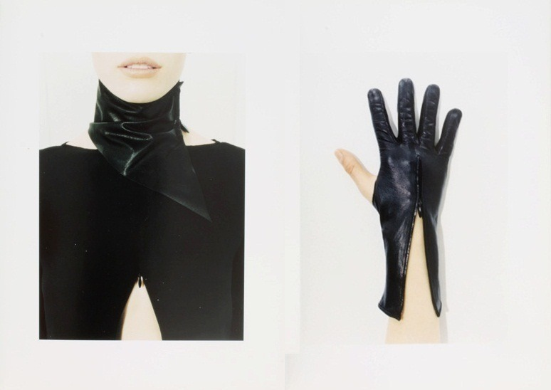 thedoppelganger:   Costume National Fall 1998Photographer: Terry RichardsonModels: Cheri Stevens, Kelly Ripley