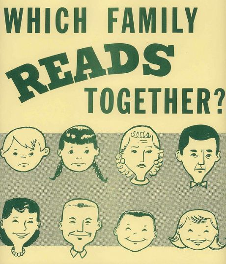 Which family reads together?