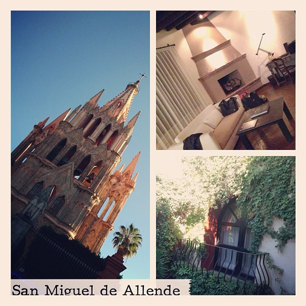 Incredible time at San Miguel de Allende. Fell in love with @doscasashotel and their amazing suites :)