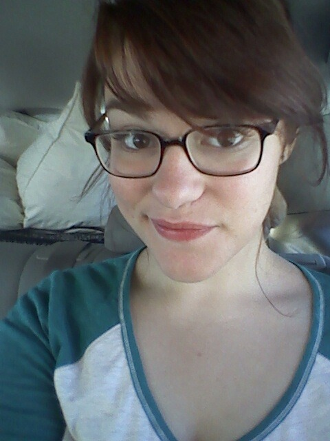 Got my hair trimmed yesterday, I am loving my bangs. :)