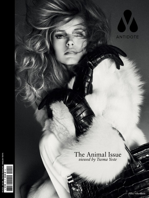 Edita Vilkeviciute by Txema Yeste for Antidote #4 Fall/Winter 2012/2013 [Cover 4/11]